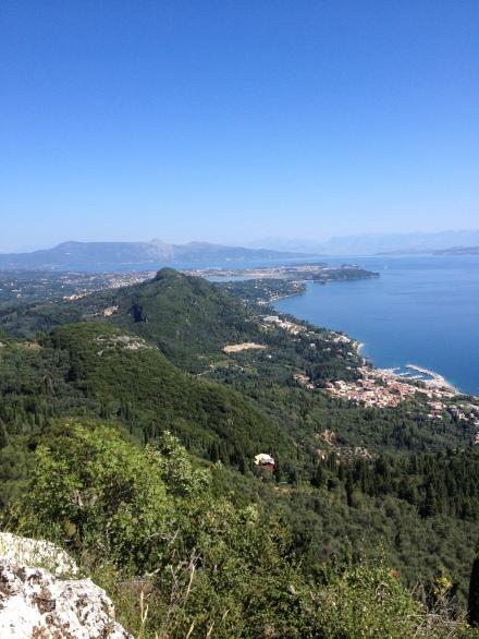 View on Corfu