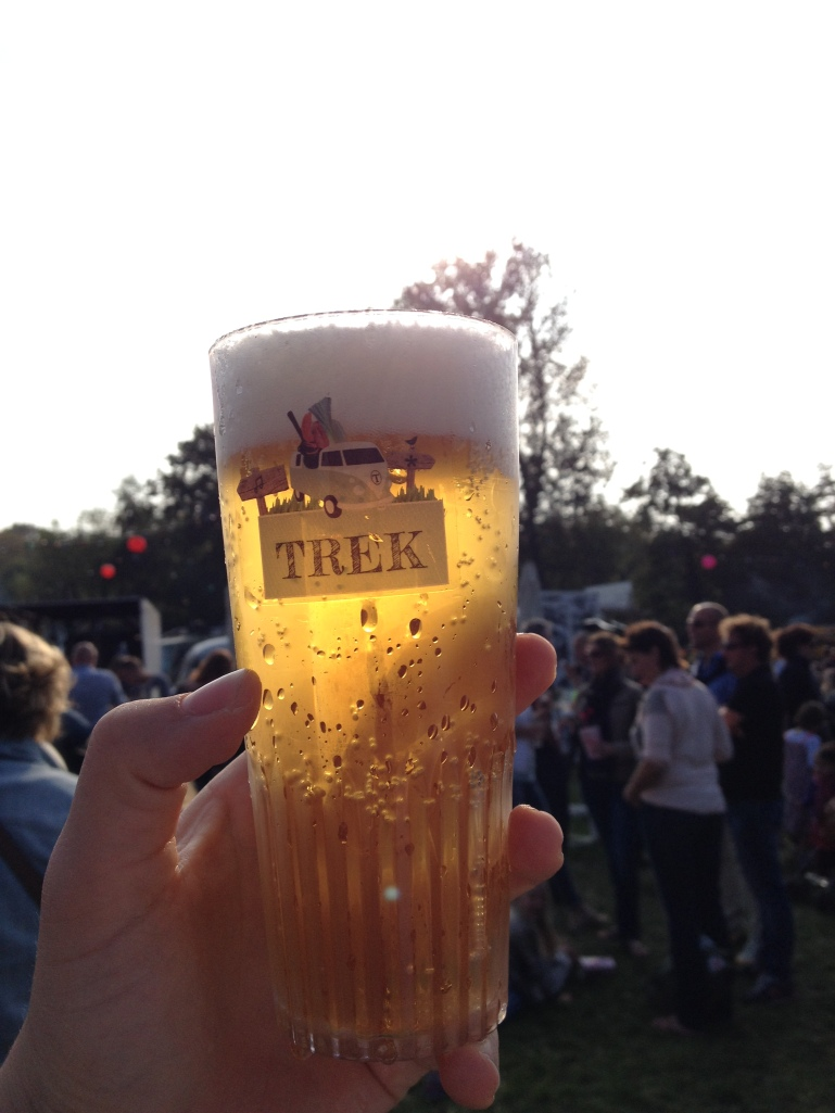 Beer at Foodtruck Festival Trek