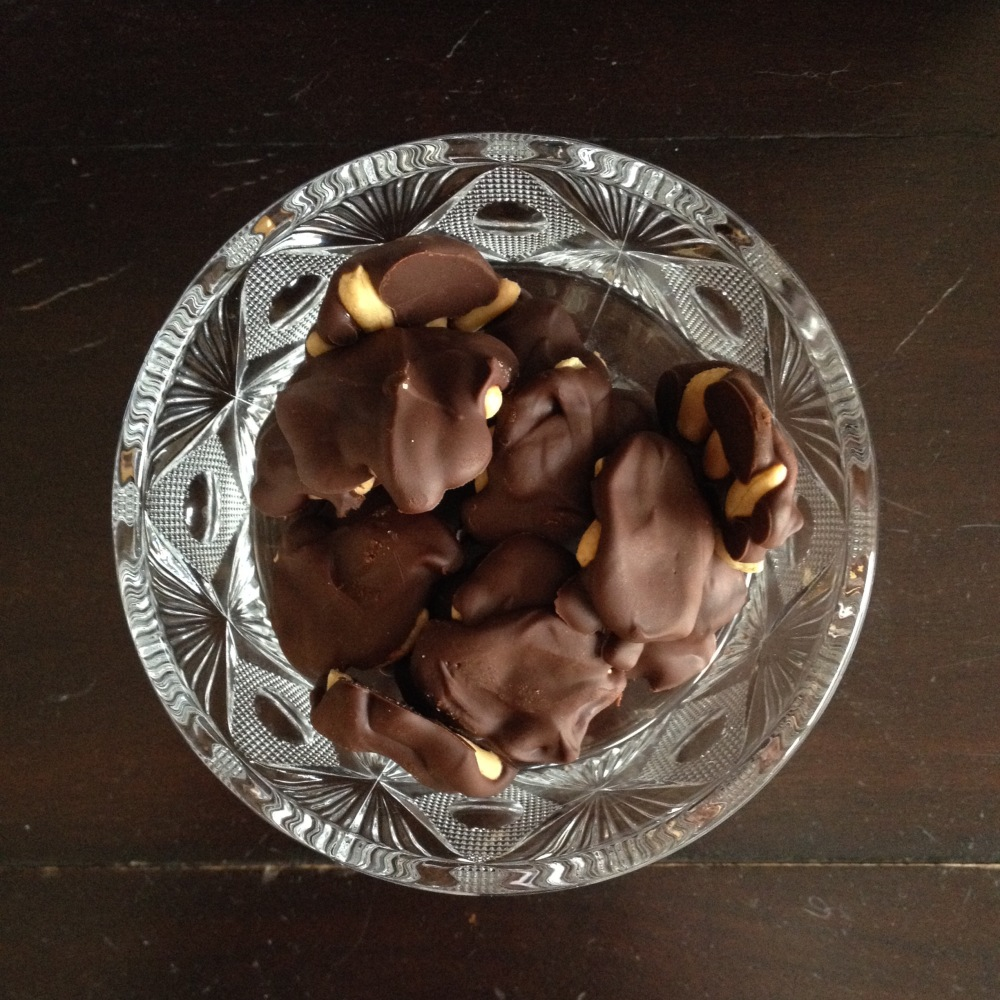 Chocolate Peanut Rocks