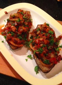 imam bayildi stuffed eggplant