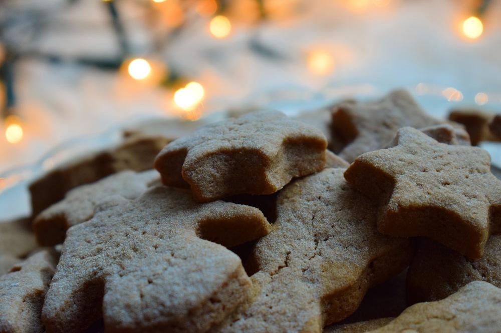ginger cinnamon christmas cookies