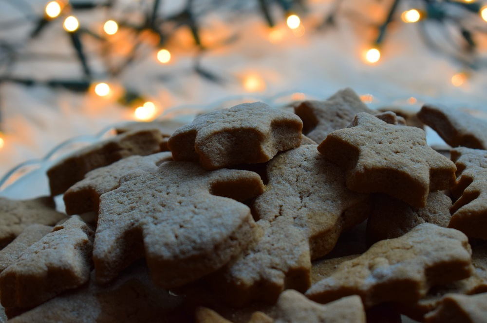 ginger cinnamon christmas cookies